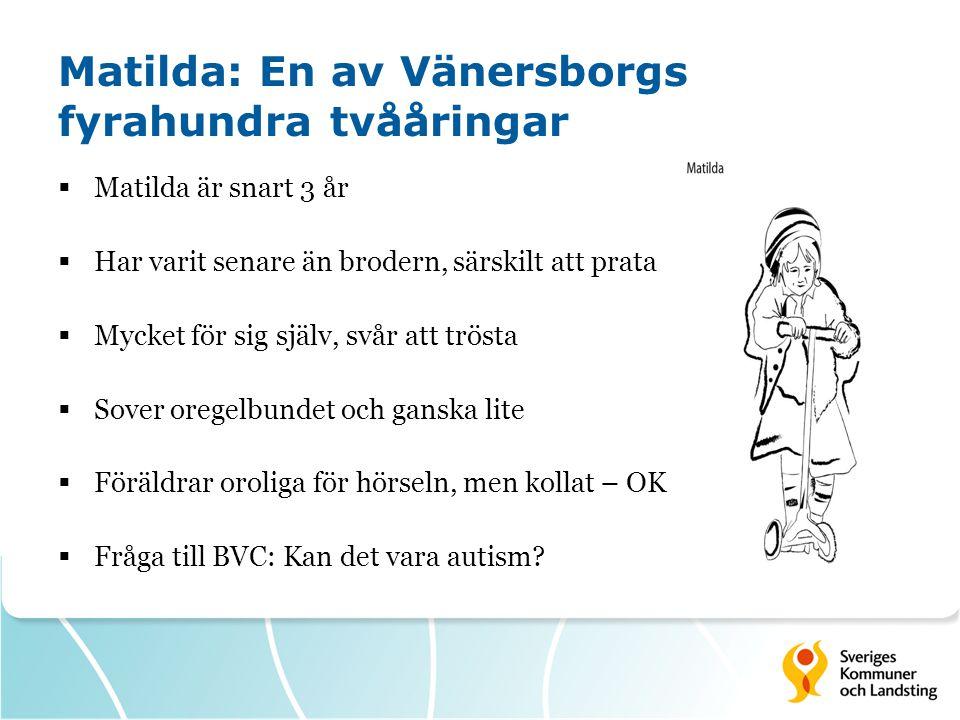 Matilda: En av Vänersborgs fyrahundra tvååringar