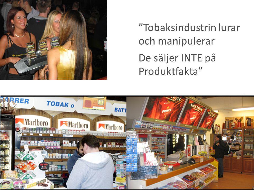 Tobaksindustrin lurar