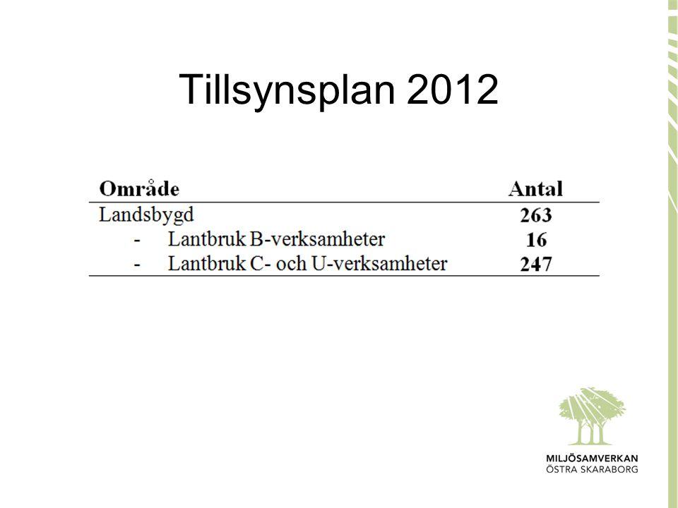 Tillsynsplan 2012
