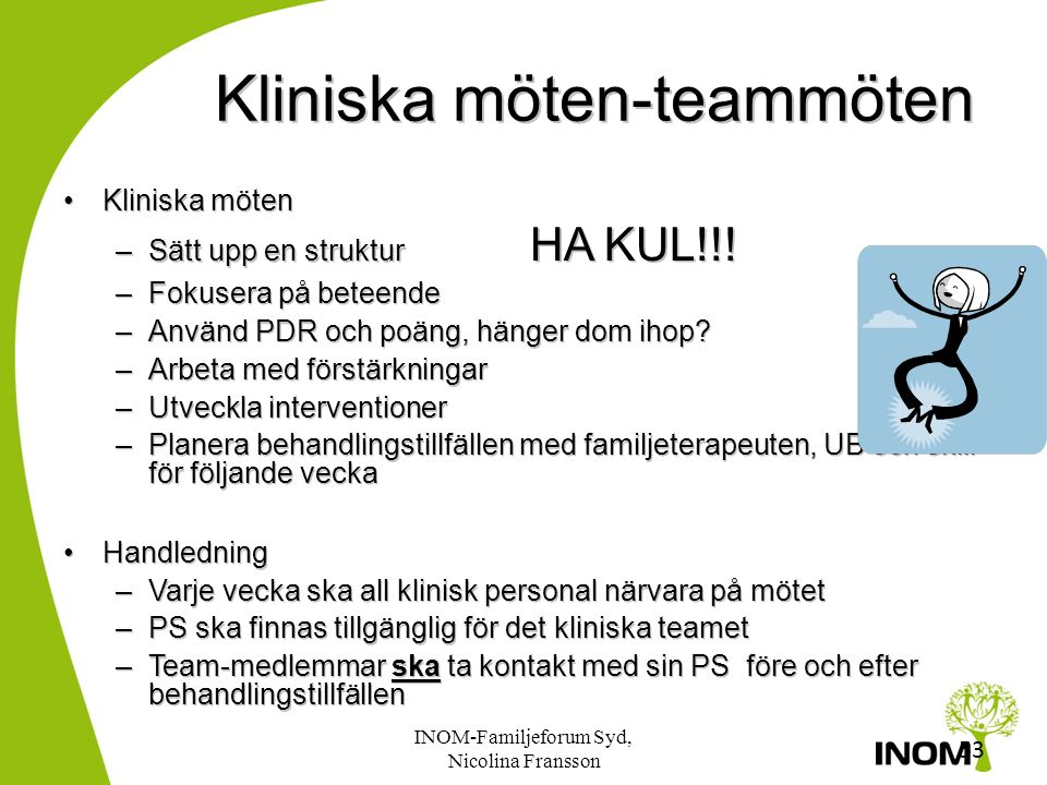 Kliniska möten-teammöten