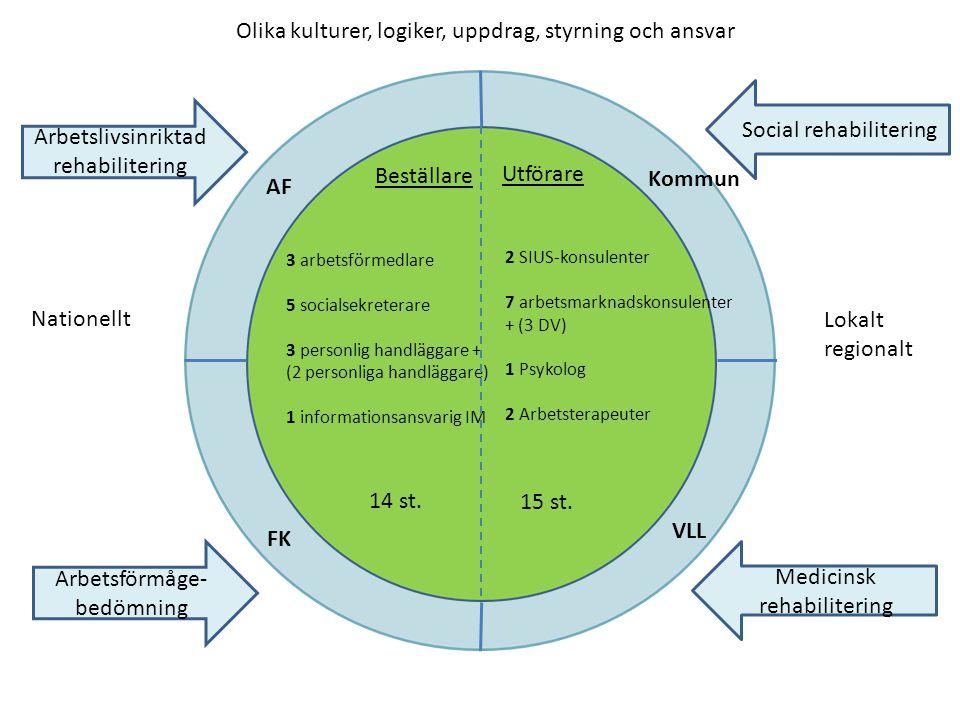Olika kulturer, logiker, uppdrag, styrning och ansvar