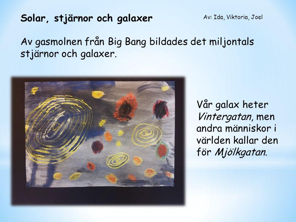 Solar, stjärnor och galaxer