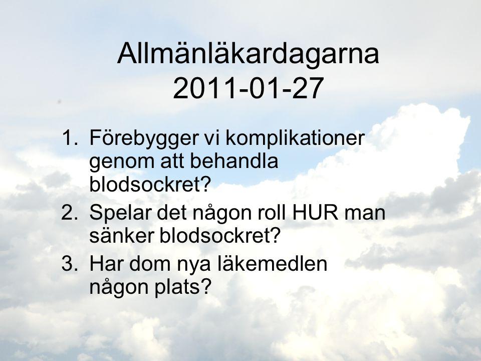 Allmänläkardagarna 2011-01-27