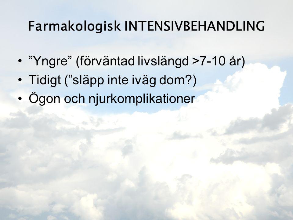 Farmakologisk INTENSIVBEHANDLING