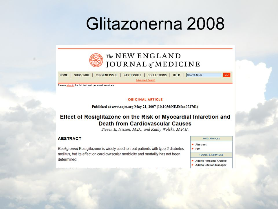 Glitazonerna 2008