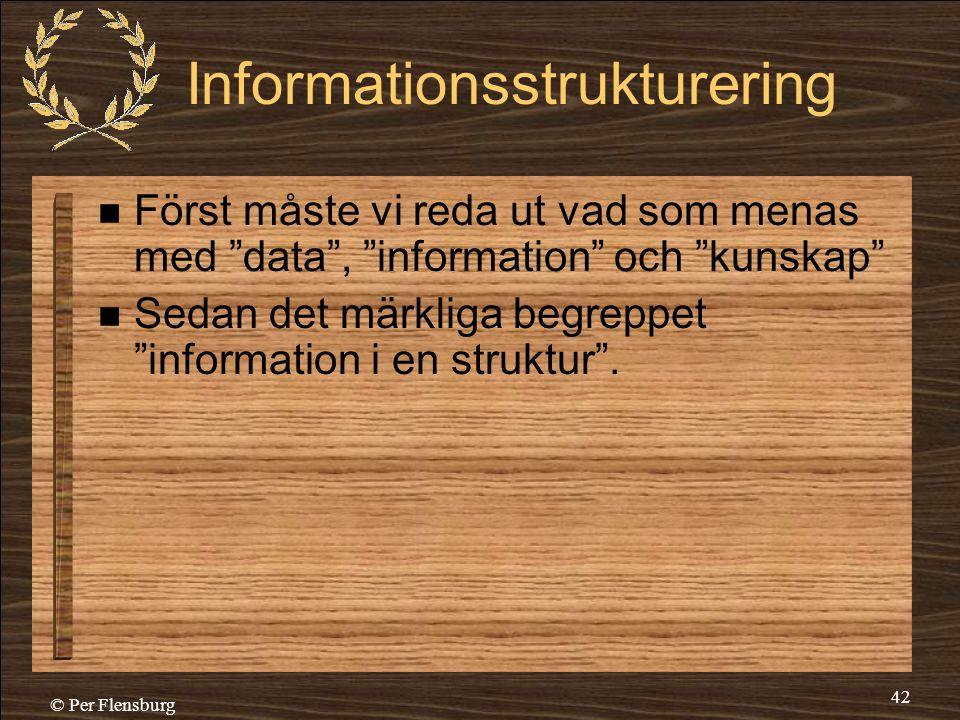 Informationsstrukturering