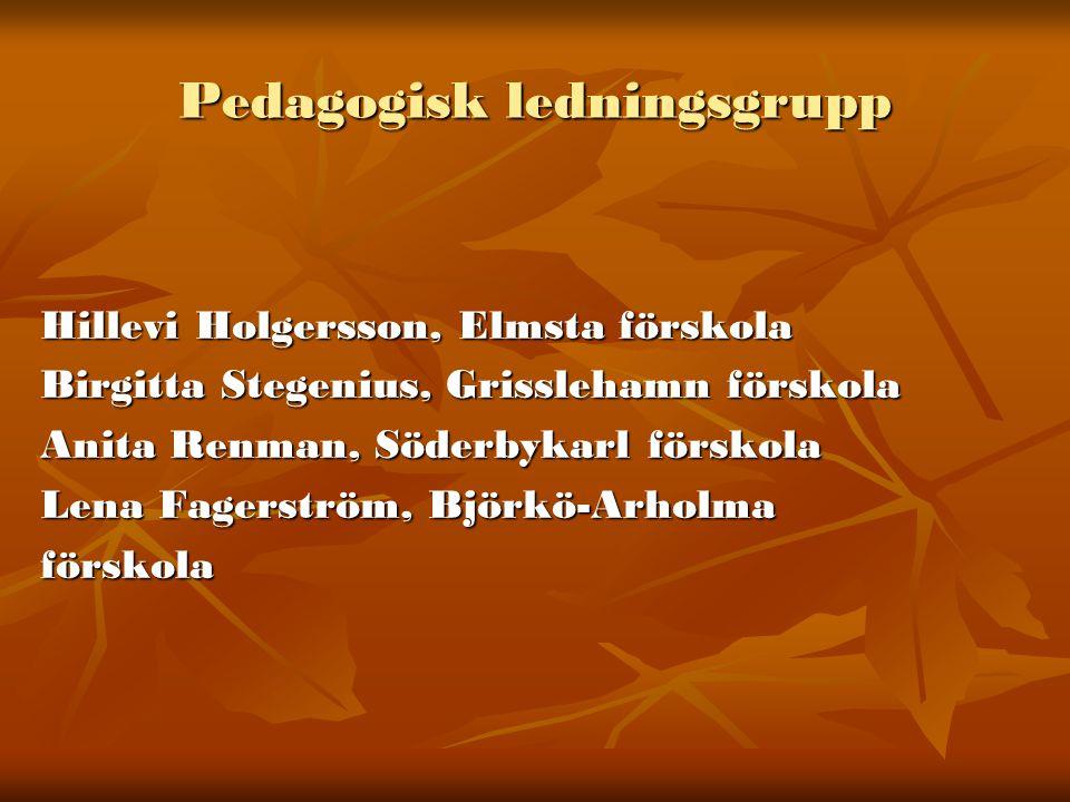 Pedagogisk ledningsgrupp