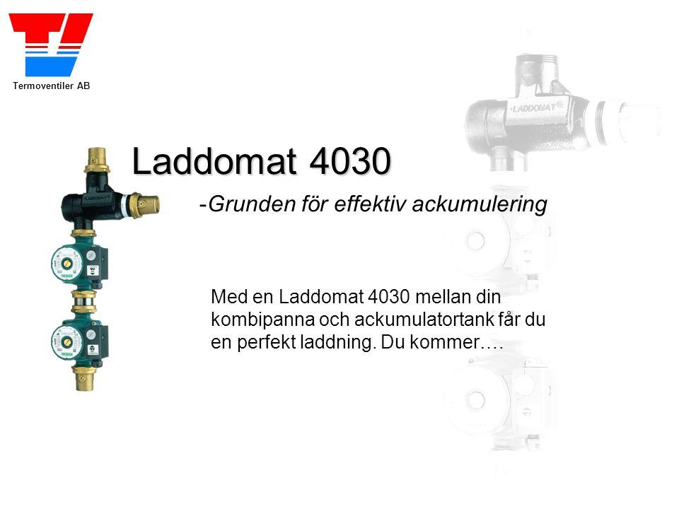 Laddomat 4030 -Grunden för effektiv ackumulering