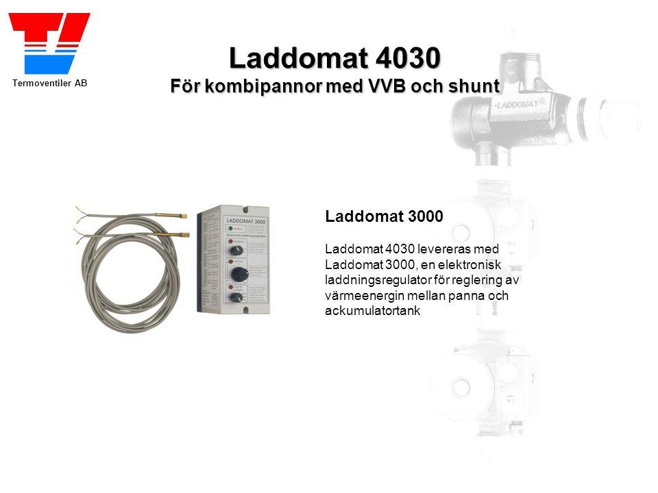 Laddomat 4030 För kombipannor med VVB och shunt