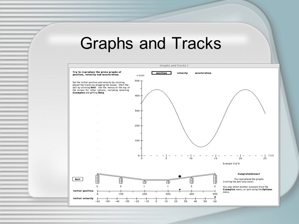 Graphs and Tracks