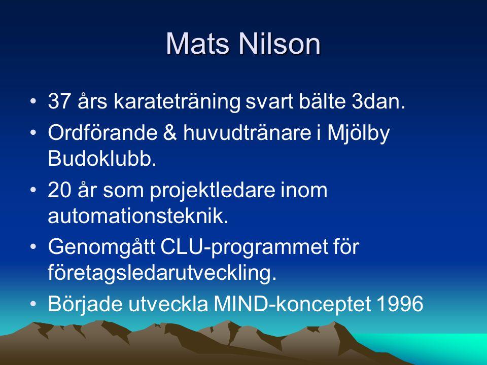Mats Nilson 37 års karateträning svart bälte 3dan.