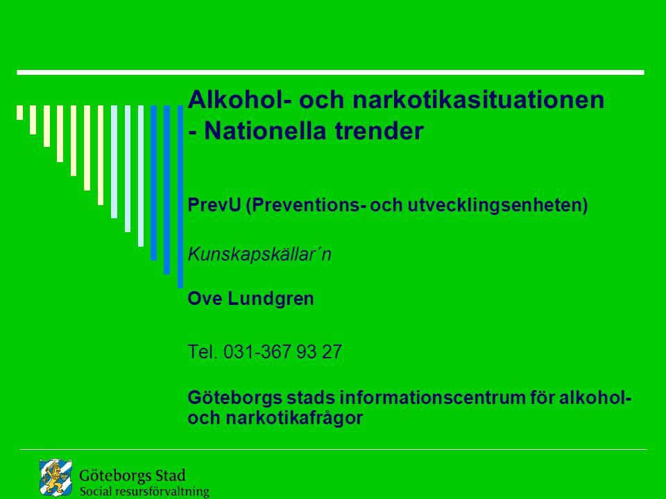 Göteborgs stads informationscentrum för alkohol- och narkotikafrågor