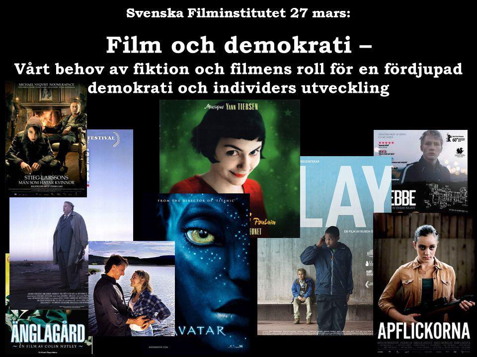 Svenska Filminstitutet 27 mars: