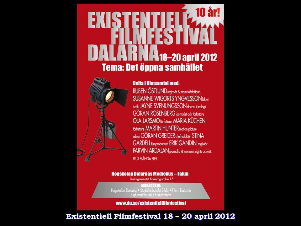 Existentiell Filmfestival 18 – 20 april 2012
