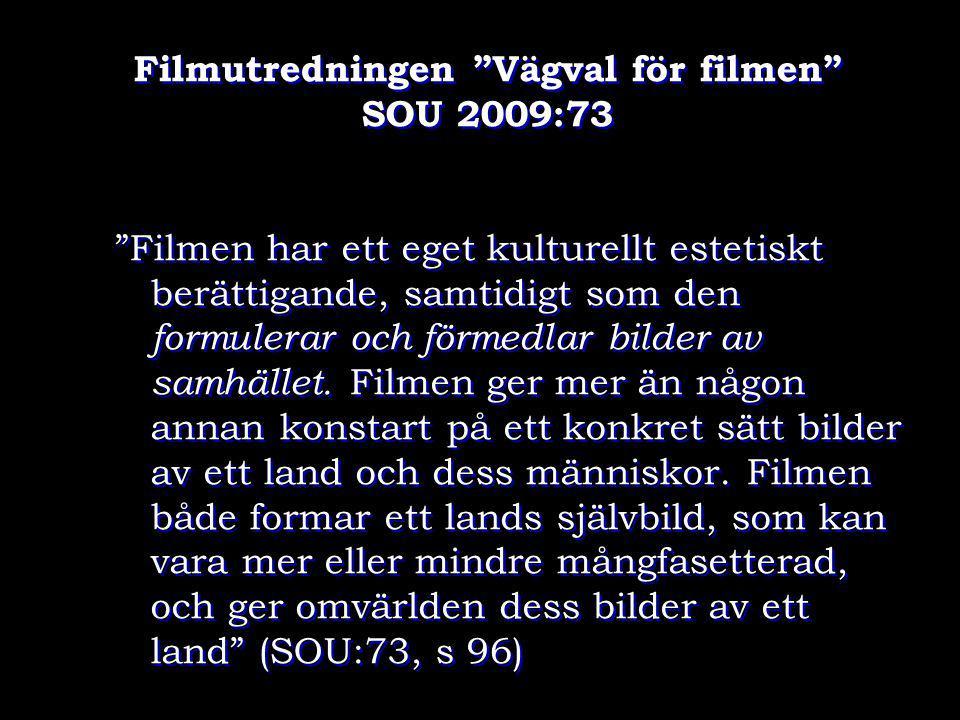 Filmutredningen Vägval för filmen