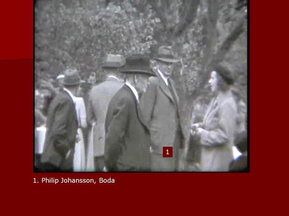 1 1. Philip Johansson, Boda