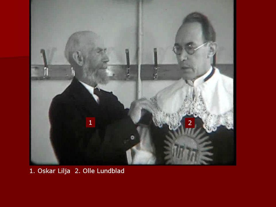 1 2 1. Oskar Lilja 2. Olle Lundblad