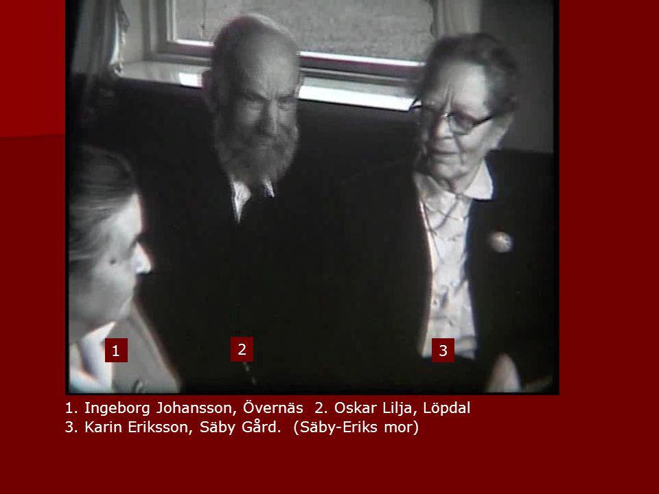 1 2. 3. 1. Ingeborg Johansson, Övernäs 2. Oskar Lilja, Löpdal 3.