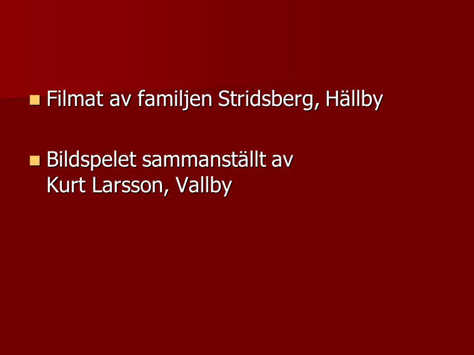 Filmat av familjen Stridsberg, Hällby