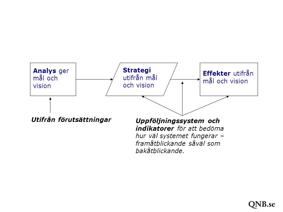 Analys ger mål och vision