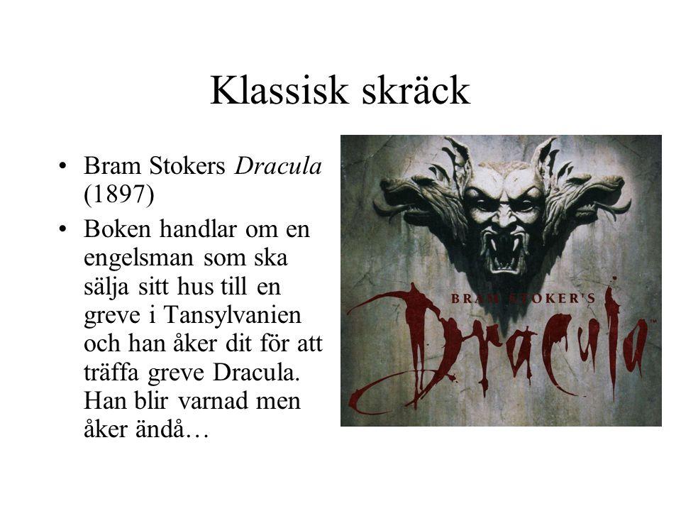 Klassisk skräck Bram Stokers Dracula (1897)