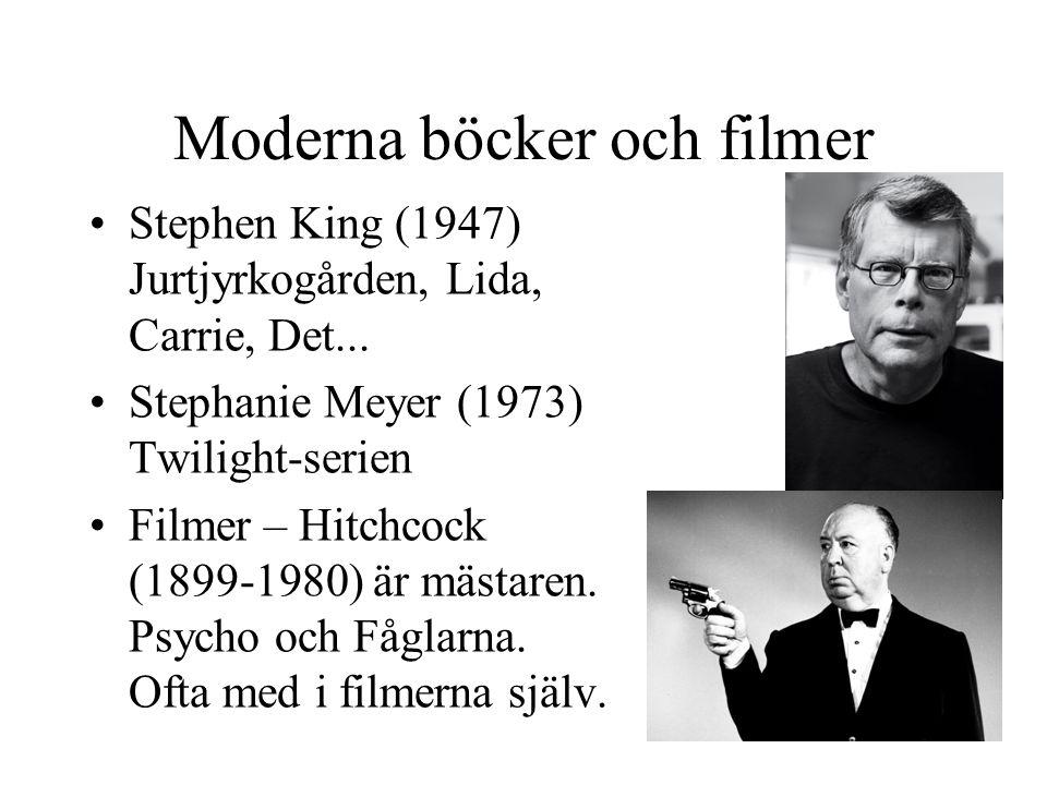 Moderna böcker och filmer