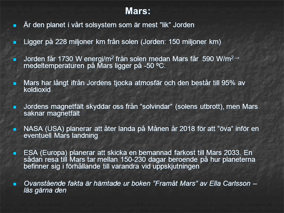 Mars: Är den planet i vårt solsystem som är mest lik Jorden