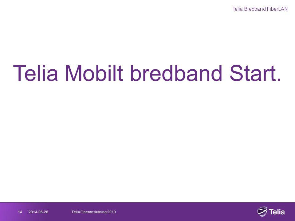 Telia Mobilt bredband Start.