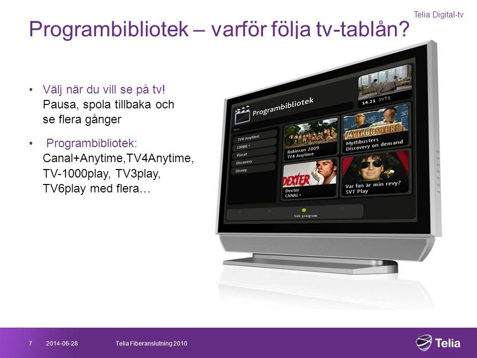 Programbibliotek – varför följa tv-tablån