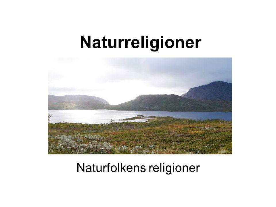 Naturfolkens religioner