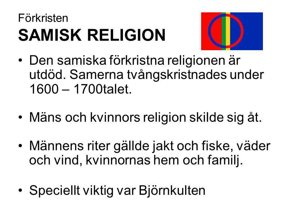 Förkristen SAMISK RELIGION