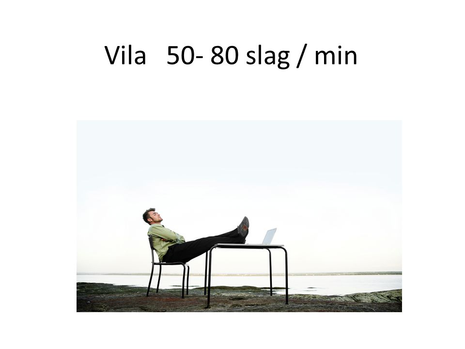 Vila 50- 80 slag / min