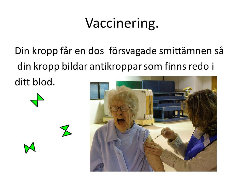 Vaccinering.