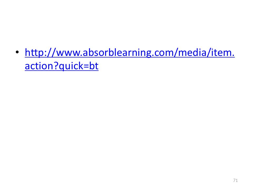 http://www.absorblearning.com/media/item.action quick=bt
