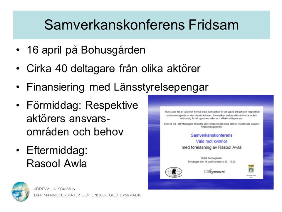 Samverkanskonferens Fridsam