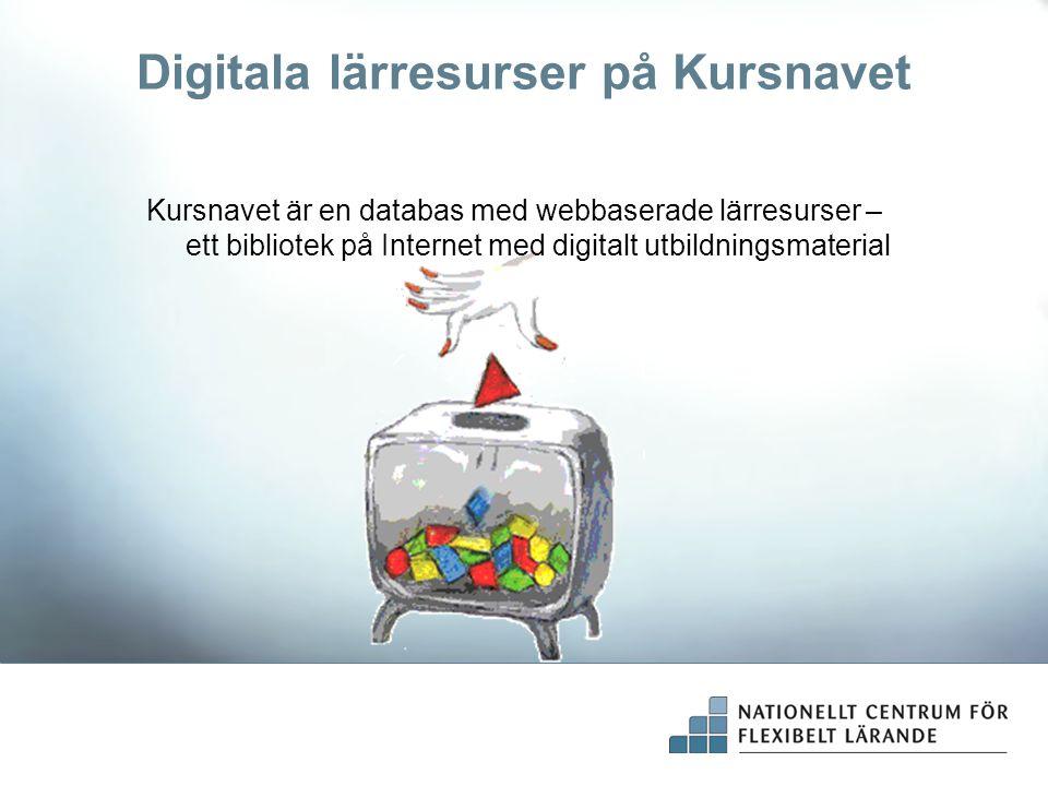 Digitala lärresurser på Kursnavet