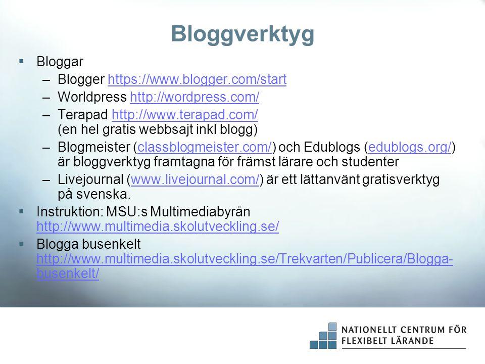 Bloggverktyg Bloggar Blogger https://www.blogger.com/start