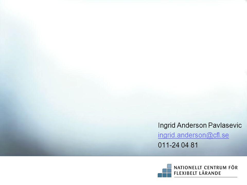 Ingrid Anderson Pavlasevic