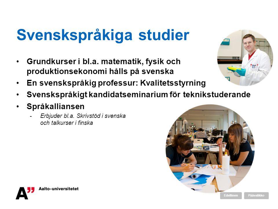 Svenskspråkiga studier