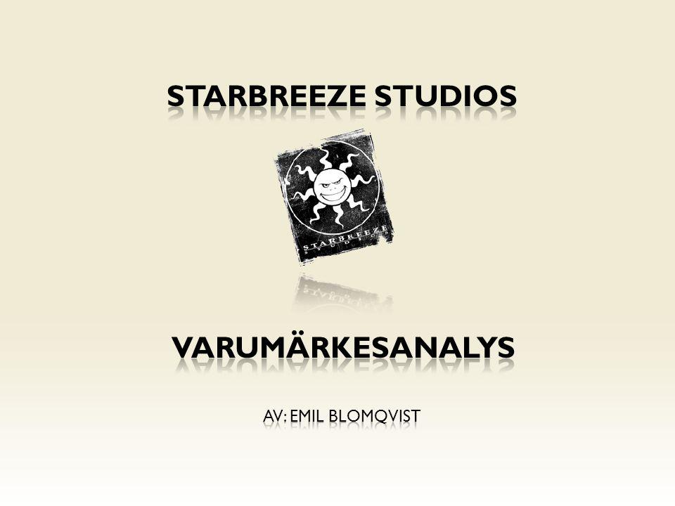 Starbreeze studios varumärkesanalys Av: emil Blomqvist