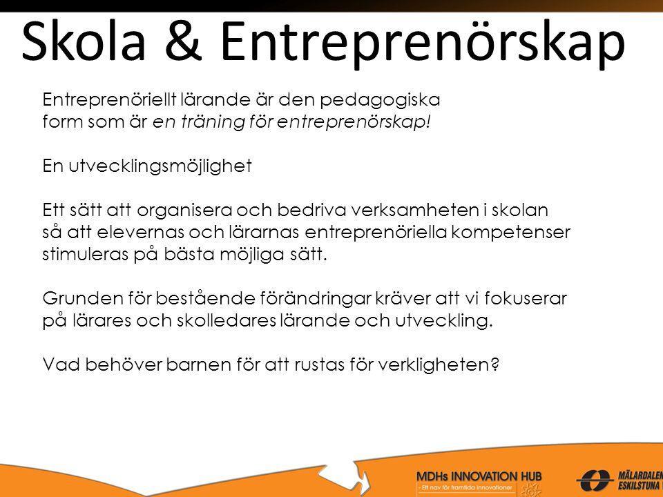 Skola & Entreprenörskap