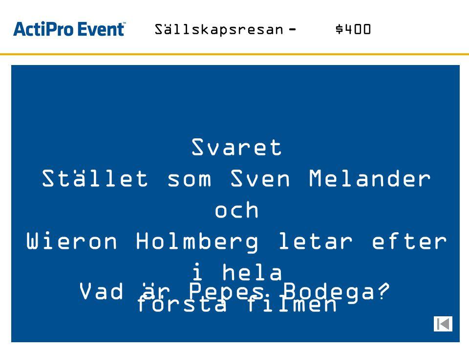 Stället som Sven Melander och Wieron Holmberg letar efter i hela