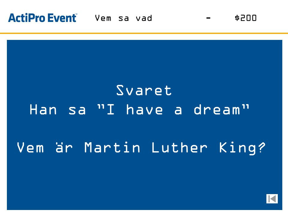 Vem är Martin Luther King