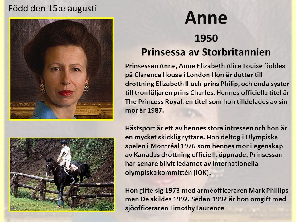 Prinsessa av Storbritannien
