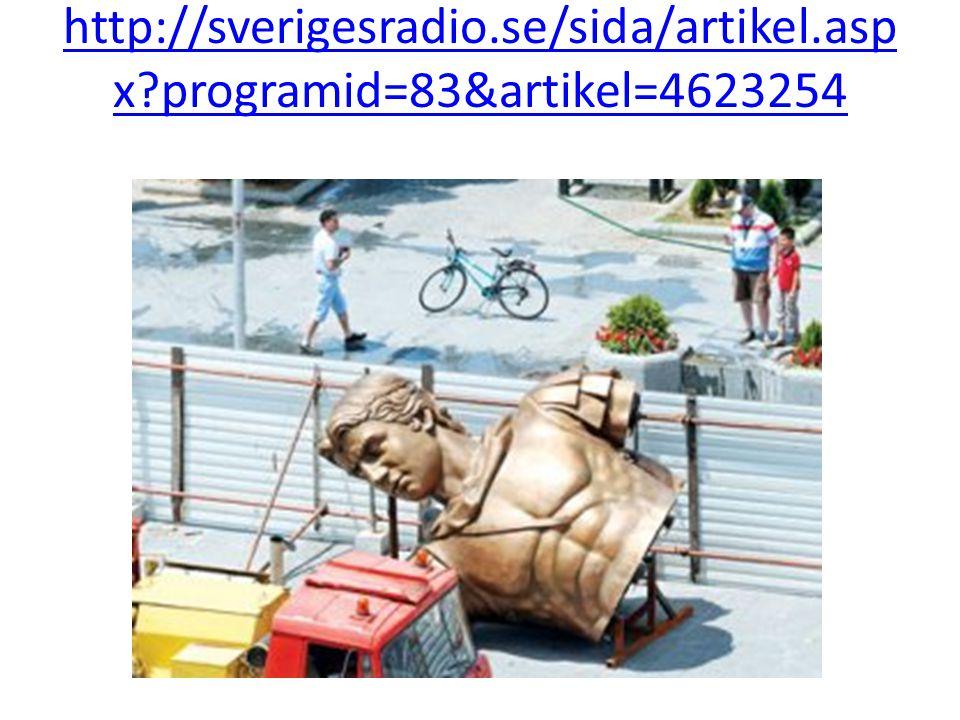 http://sverigesradio. se/sida/artikel. aspx