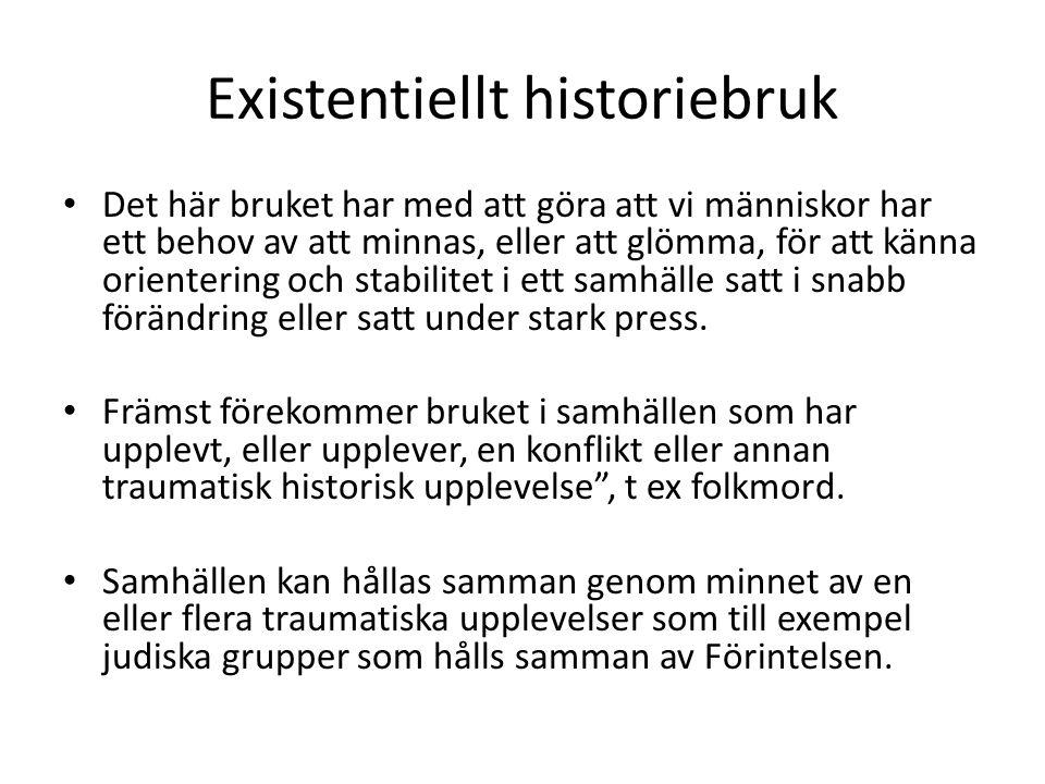 Existentiellt historiebruk