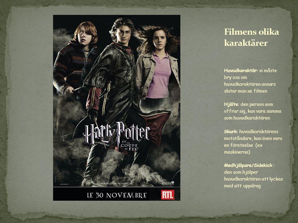 Filmens olika karaktärer