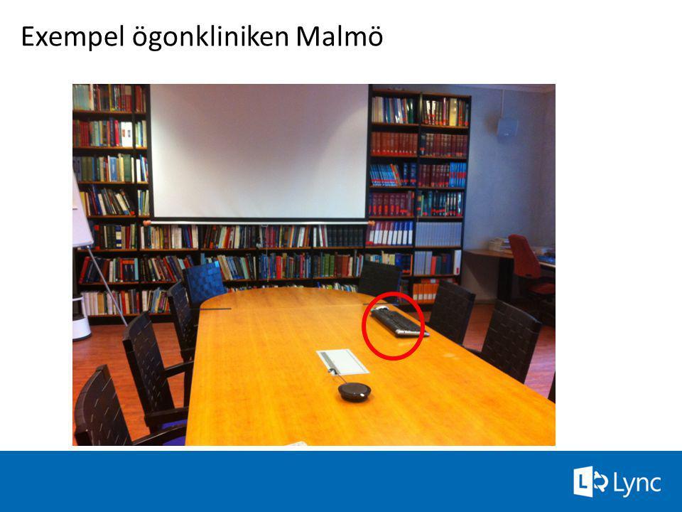Exempel ögonkliniken Malmö