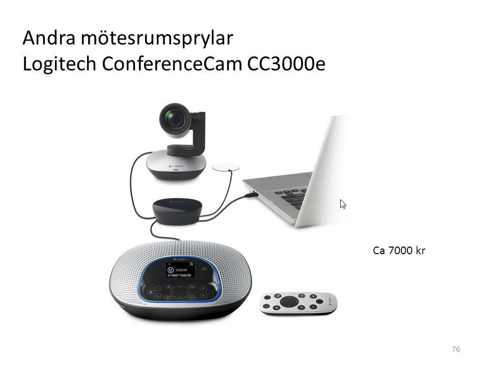 Andra mötesrumsprylar Logitech ConferenceCam CC3000e