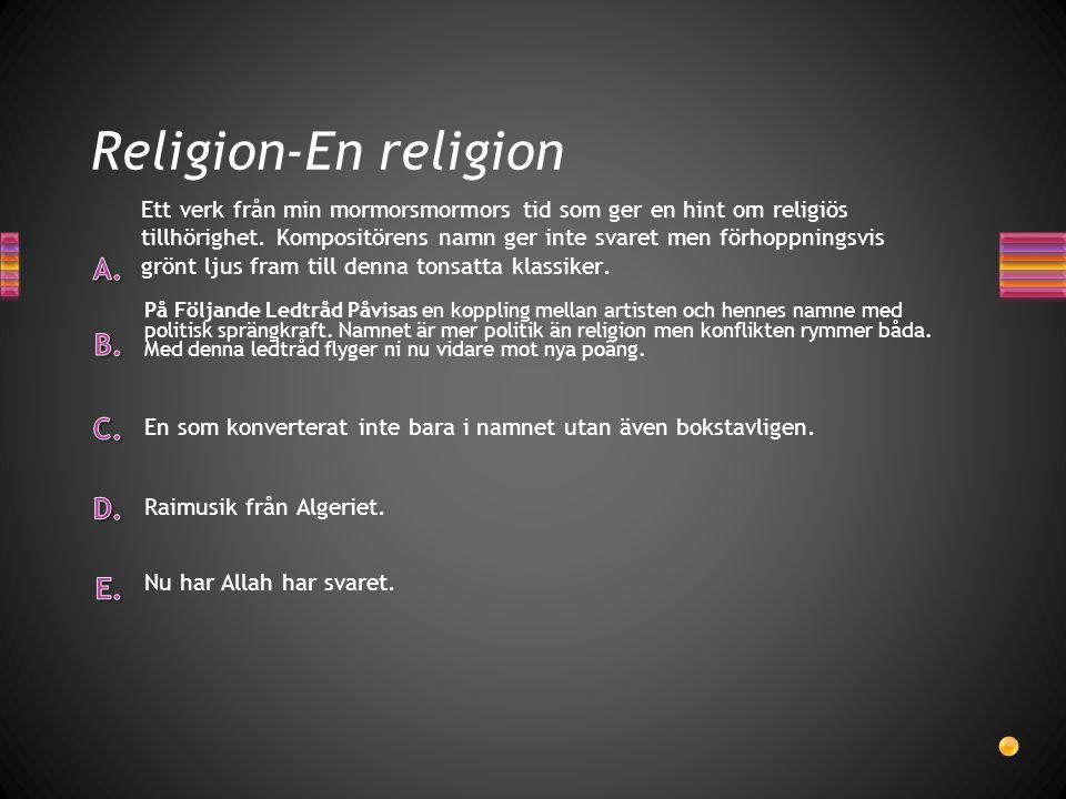 Religion-En religion